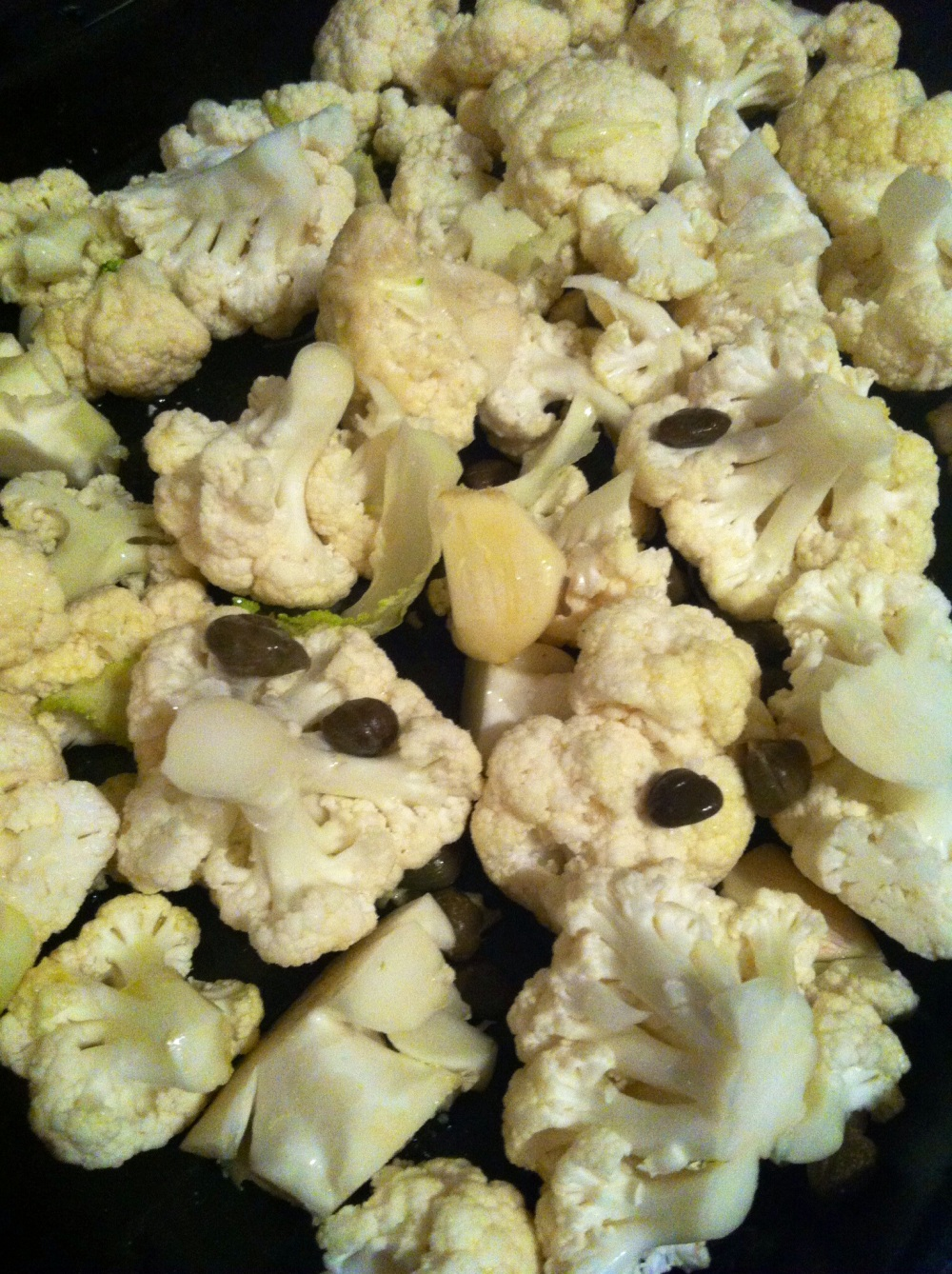 cauliflower chopped
