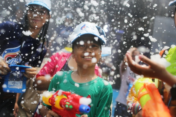 Water Festival Marks Start Of New Year In Thailand